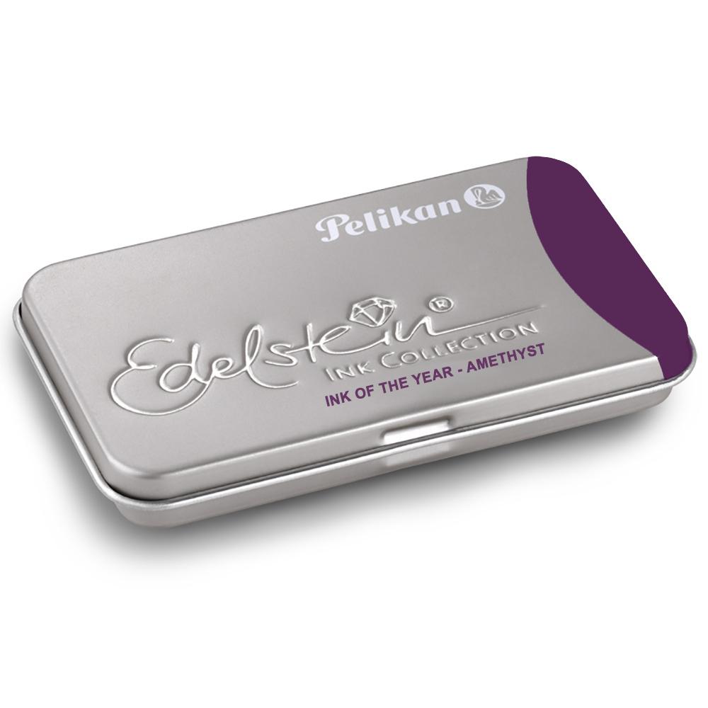 Pelikan Amethyst Edelstein Ink Tintenpatronen GTP/EIAM/6