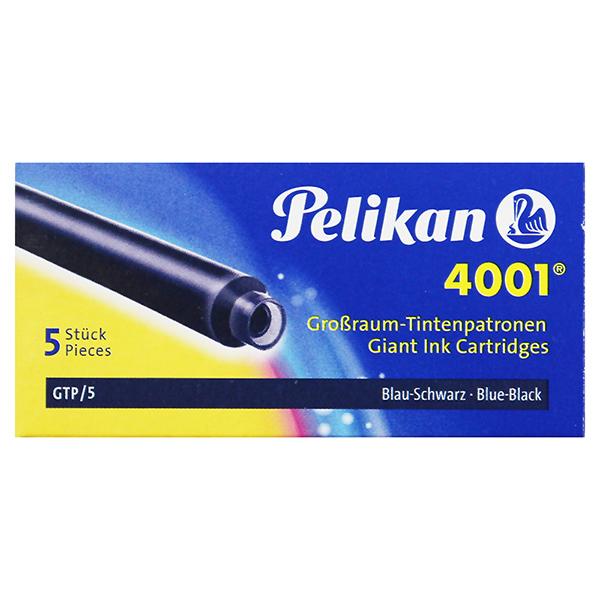 Pelikan Tintenpatronen Großraum blau schwarz 4001 GTP/5