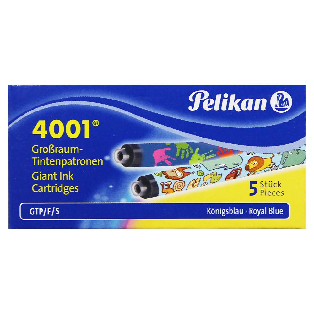 Pelikan Motiv Tintenpatronen Großraum königsblau 4001 GTP/F/5