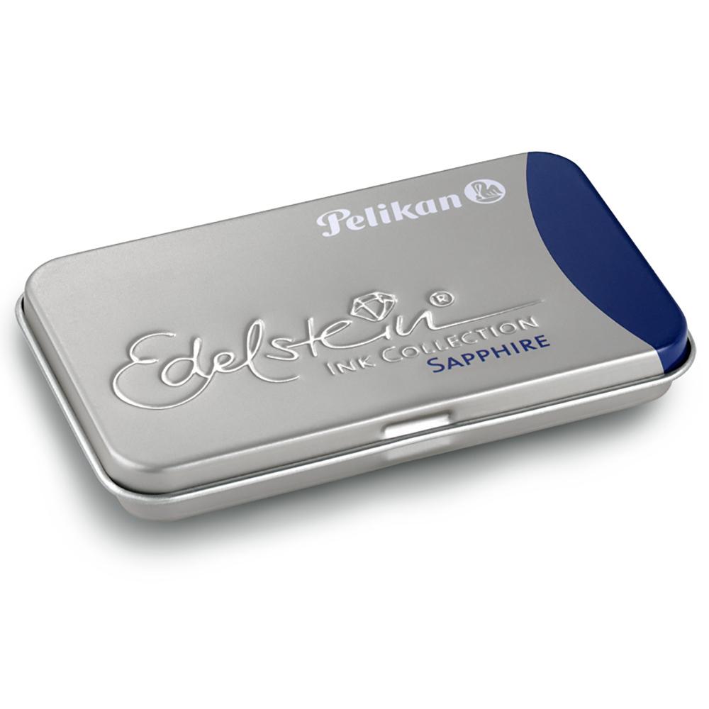 Pelikan Sapphire Edelstein Ink Tintenpatronen blau GTP/EIB/6