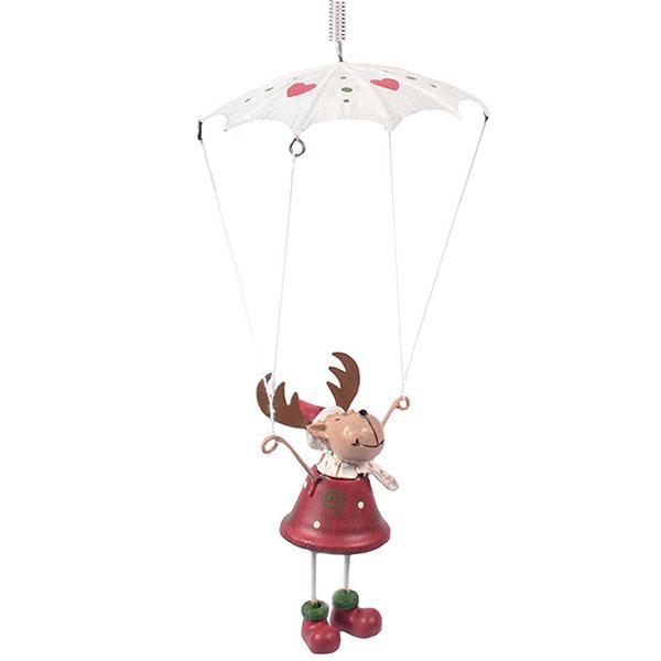 Fallschirm Elch Schwingfigur