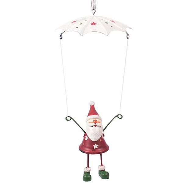 Fallschirm Weihnachtsmann Schwingfigur