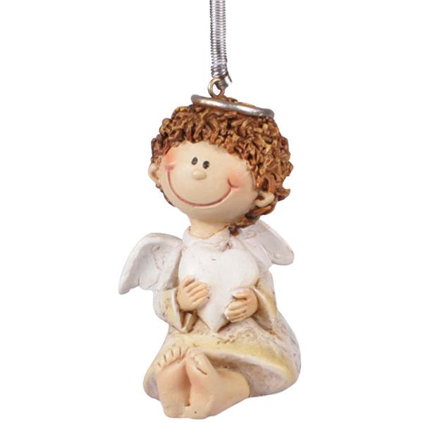 Schwingfigur Engel Neria sitzend