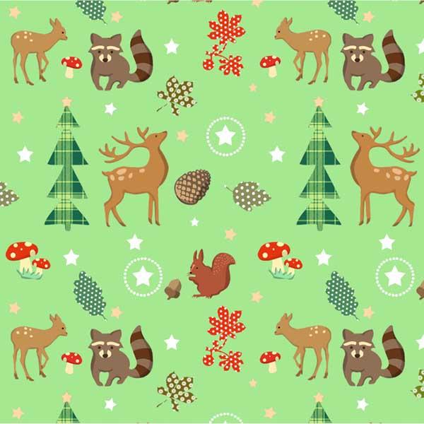 Susy Card Geschenkpapier Weihnachten Reh m² / € 2,11