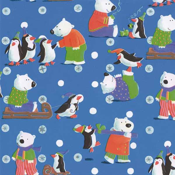 Susy Card Geschenkpapier Weihnachten Eisbär m² / € 2,11