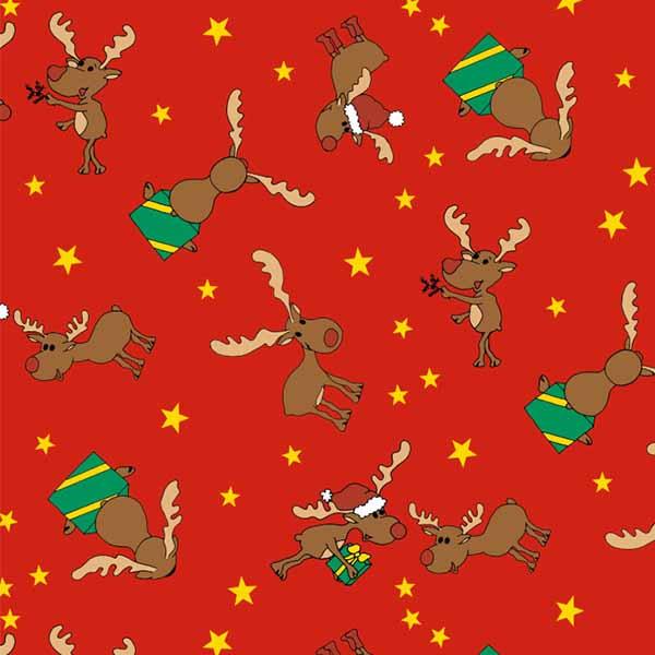 Susy Card Geschenkpapier Weihnachten Rentier m² / € 2,11