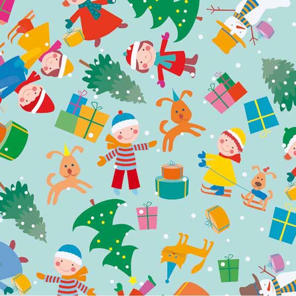 Susy Card Geschenkpapier Weihnachten Weihnachtsspaß m² / € 2,11