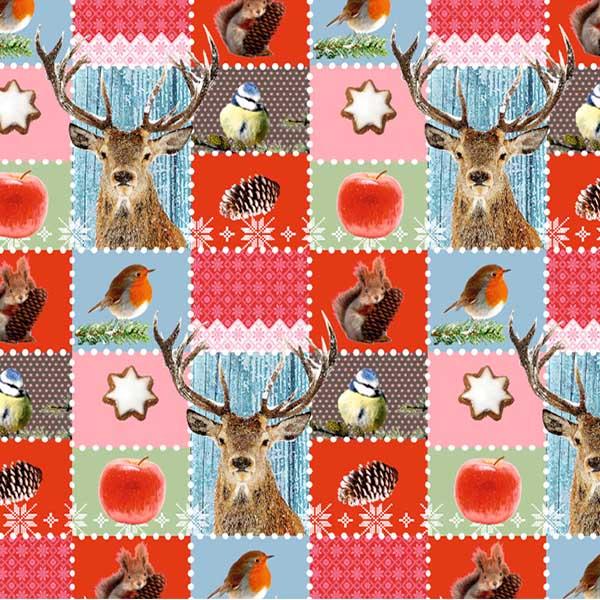 Susy Card Geschenkpapier Winterwald m² / € 2,11